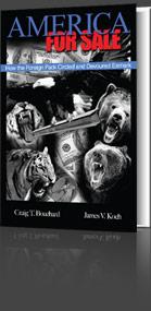 America for Sale, Book Cover