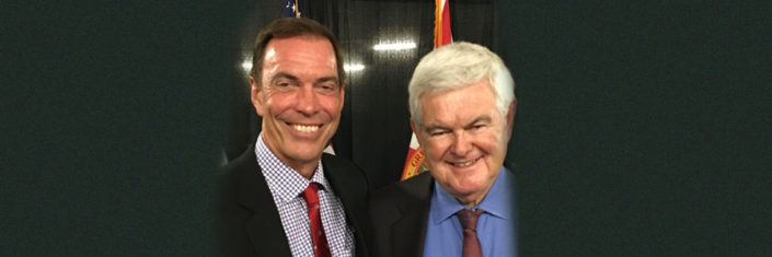 Craig and Newt Gingrich