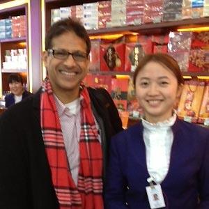 Raj in Shanghai