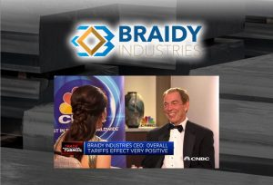 Braidy Industries CEO: Overall Tariffs Effect Very Positive